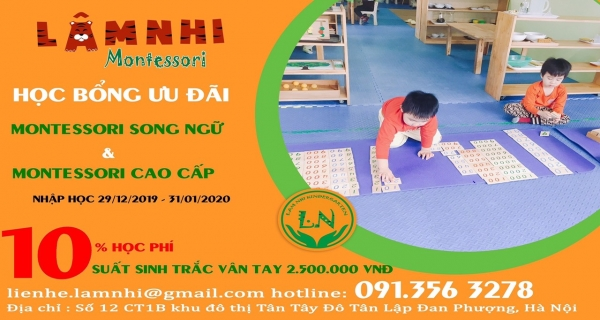 SONG NGỮ MONTESSORI